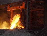 Slag in steel plant