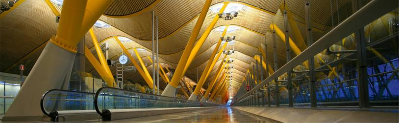 Barajas airport, a window on Madrid